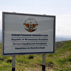 road-sign-artsakh-nagorno-karabakh
